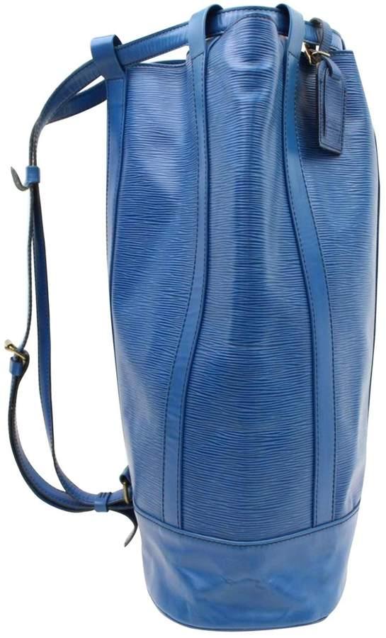 Louis Vuitton Randonnée Leather Backpack