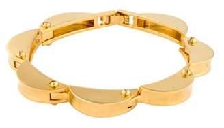 Lele Sadoughi Scalloped Bracelet