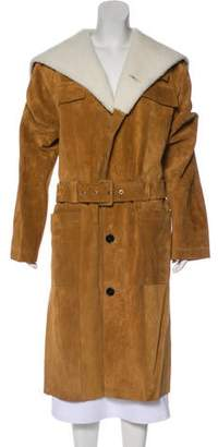 Loewe Leather Long Coat