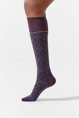 Out From Under Argyle Knee High Sock