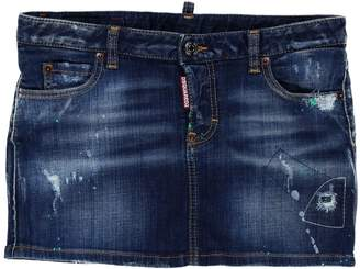 DSQUARED2 Denim skirts - Item 42614356TT
