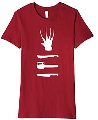 Halloween Weapons Shirt Horror Movie Buff T-Shirt