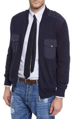 Brunello Cucinelli Men's Full-Zip Cardigan