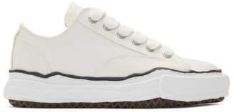 Miharayasuhiro White Original Sole Sneakers