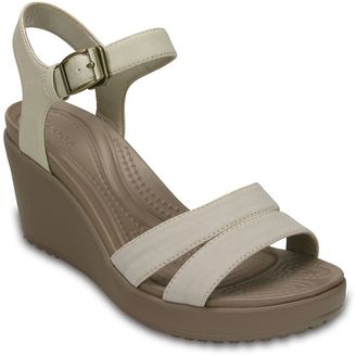 Crocs Leigh II Women's Wedge Sandals $54.99 thestylecure.com