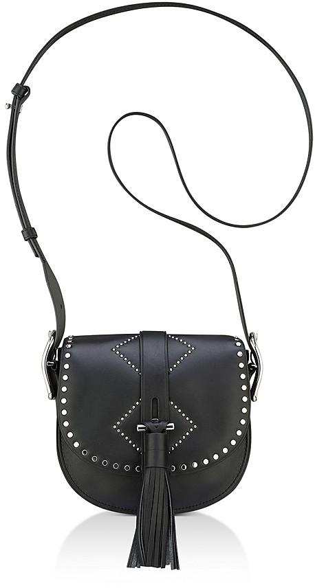 Anne Klein Kate Studded Leather Crossbody