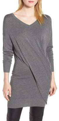 Trouve Trouv? Seamed Drape Sweater