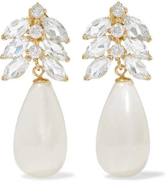 Loren Stewart - Aura 14-karat Gold Multi-stone Earrings