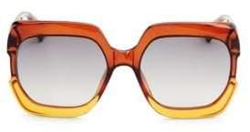Christian Dior DiorGaia 58MM Square Sunglasses