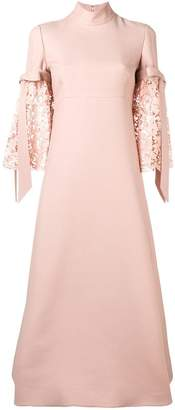 Valentino flared dress