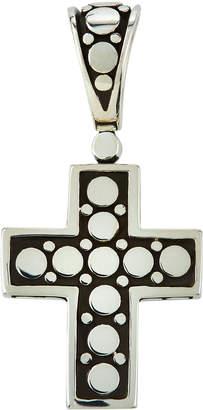 John Hardy Dot Silver Small Cross Pendant