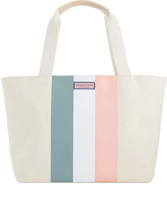 Vineyard Vines Tri Stripe Tote Bag