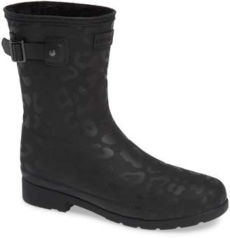 Hunter Insulated Refined Short Rain Boot