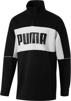 Retro Quarter Zip Turtleneck Men's Pullover