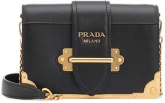 2bb5ad4b99a7 Prada Cahier leather shoulder bag