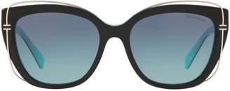 Tiffany & Co. Cat Eye 'T' Sunglasses