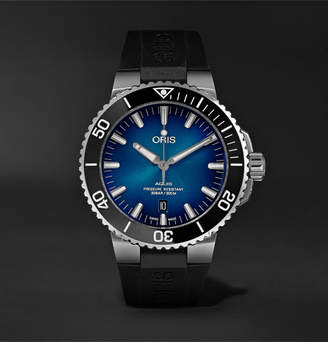 Oris Clipperton Automatic 43.5mm Stainless Steel And Rubber Watch