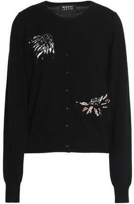 Markus Lupfer Sequin-Embellished Merino Wool Cardigan
