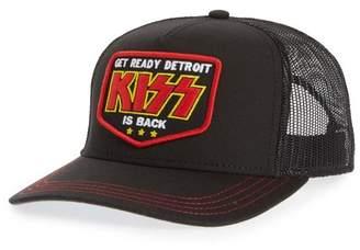 b4de2baf839637 American Needle Valin KISS Trucker Hat