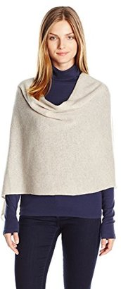 Minnie Rose Women's Cashmere Ruana $149.60 thestylecure.com