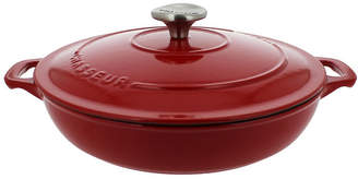 Chasseur French Enameled Cast Iron 1.8 Qt. Braiser with Lid