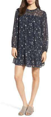 Velvet by Graham & Spencer Star Print Dress