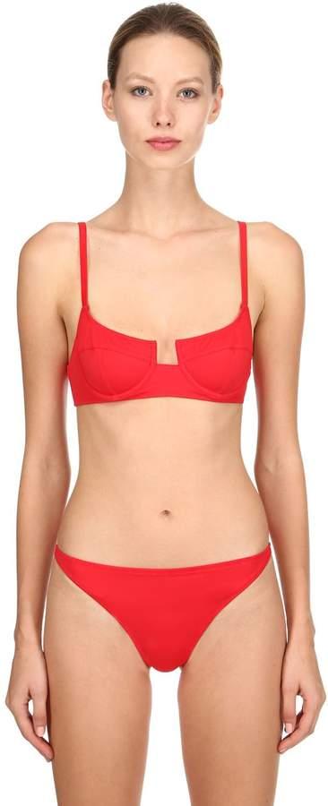 Re Done Bikini Top W/ Underwire