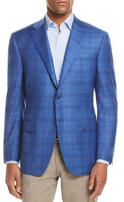 Canali Tonal Plaid Classic Fit Sport Coat