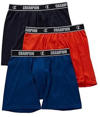 Champion Men's 3-Pack Active Performance Boxer Brief