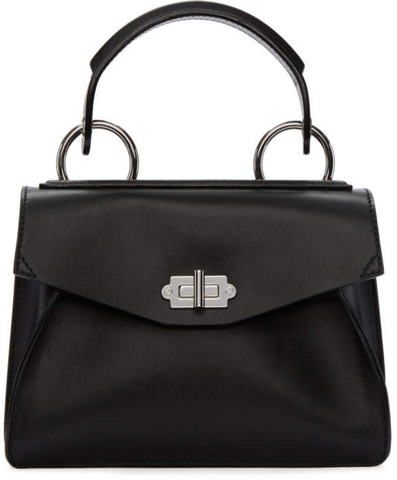 Proenza Schouler Black Small Hava Top Handle Bag