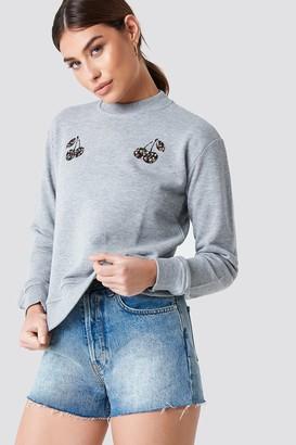 NA-KD Na Kd Cherry Sweatshirt