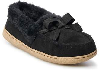Sonoma Goods For Life Women's SONOMA Goods for Life Microsuede Moccasin Slippers