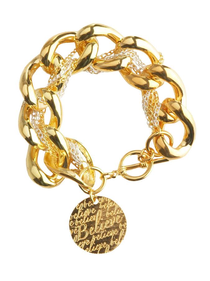 Multi Chain Charm Bracelet