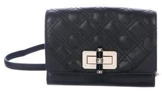 Diane von Furstenberg Quilted Leather Crossbody Bag