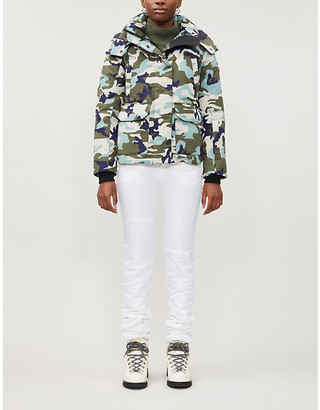 Canada Goose Blakeley camo-print hooded woven jacket