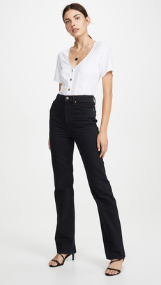 KHAITE Danielle Stovepipe Jeans