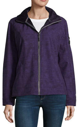 Free Country Hooded Water Resistant Lightweight Softshell Jacket-Tall