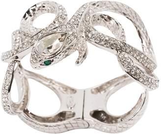 Roberto Cavalli Silver Metal Bracelets