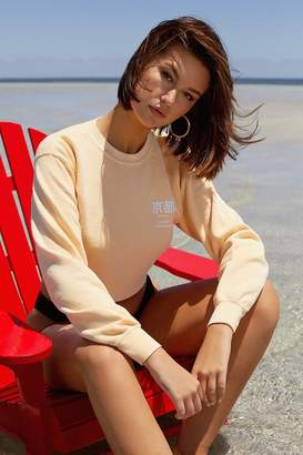 Urban Outfitters Kyoto Cropped Crew-Neck Sweatshirt