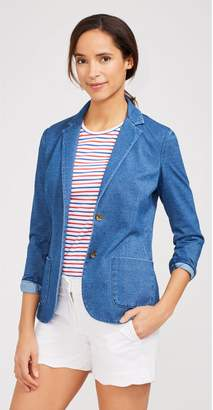 J.Mclaughlin Jude Knit Denim Blazer
