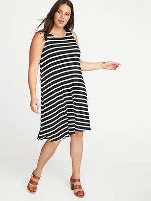 63b23484f11 ... Old Navy Sleeveless Plus-Size Jersey-Knit Swing Dress