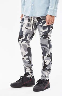 PacSun Drop Skinny Snow Camo Cargo Jogger Pants