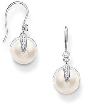 7bf32fed3 Thomas Sabo Glam & Soul Ladies Pull Through Earrings Brisur Sterling Silver  Clear Cubic Zirconia Pearls