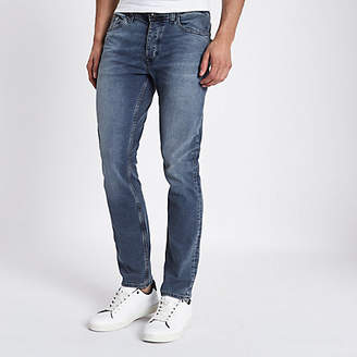 River Island Mid blue wash Dylan slim fit jeans