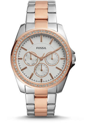 Fossil Janice Multifunction Two-Tone Stainless Steel Watch