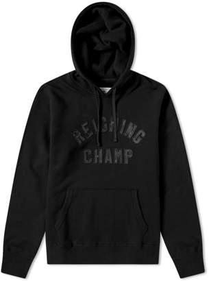 Reigning Champ Club Camo Logo Hoody