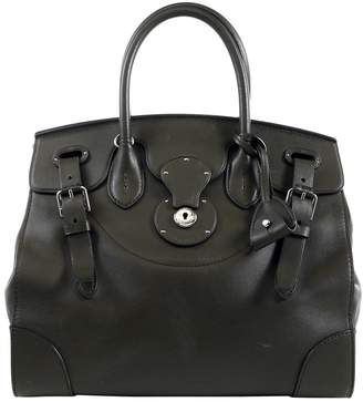 Ralph Lauren Khaki Leather Handbags