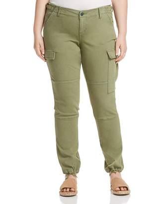 SLINK Jeans Plus Twill Cargo Jogger Pants