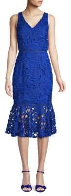 Alexia Admor Midi Lace Dress
