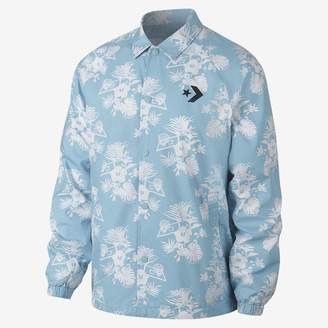 Converse Palm Print Coaches Men's Jacket
